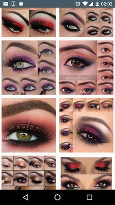 Eyes makeup 2016 collects images of how to make up your eyes step by step professionally, explained through simple makeup tutorials.With this beauty app of makeup ideas you will be a great makeup expert for you and your friends at any party, wedding, or any type of event. It is very easy, simple and practical, just grab your eyeshadow palette, and makeup set , and start right now. Put down the contouring powder. Step away from the fake eyelashes. We've got new makeup ideas to freshen u...