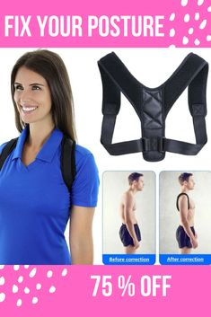 The Best Posture Corrector For Men and Women! The Top Posture A Back Brace For Posture and Mind. Our Zeowo Back Posture Corrector heals your back problems and your depression. Our Zeowo Posture Corrector is made of custom cushioning. Shoulder Posture Brace, Back Brace For Posture, Fix Bad Posture, Better Posture, Good Posture, Shoulder Posture Corrector, Posture Corrector For Men, Posture Support, Posture Exercises