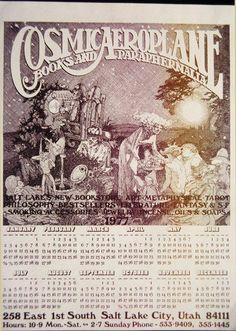 Cosmic Aeroplane Sand Lake, Salt Lake City Utah, Cosmic, Travel Ideas, Growing Up, Tarot, Honey, Industrial, Memories