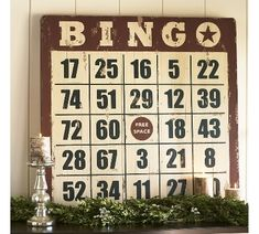 Pottery Barn Bingo - for SYTYCD Week 2   Funky Junk InteriorsFunky Junk Interiors
