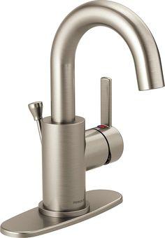 Delta Faucet P191102LF-BN Peerless Apex, Single Handle Center Set Bathroom,...