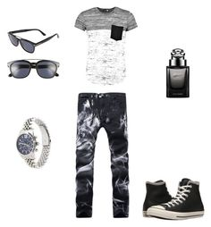"""""""yeah"""" by butterflyking ❤ liked on Polyvore featuring beauty, Converse, Tom Ford, Gucci and Boohoo"""