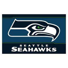 Seattle Seahawks NFL 3x5 Banner Flag (36x60)
