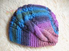 Теплая шапка на зиму вязаная спицами - подробный фото мастер класс и схемы