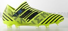 Adidas Nemeziz 17 +360Agility boots, Solar yelow/black.