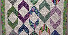 This Beautiful Chevron Block Is Just One Of The Many Things You Can Make With A Half Square Triangle!
