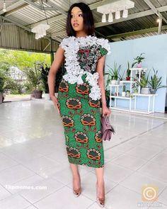 Unique Ankara Styles, Ankara Short Gown Styles, Ankara Gowns, Short Gowns, African Print Dresses, African Dresses For Women, African Prints, Lace Gown Styles, Ankara Skirt And Blouse