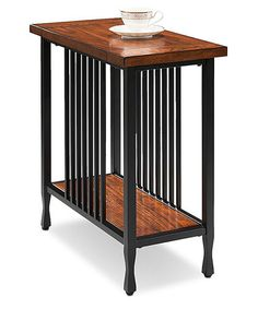 Love this Mission Oak Chairside Table on #zulily! #zulilyfinds