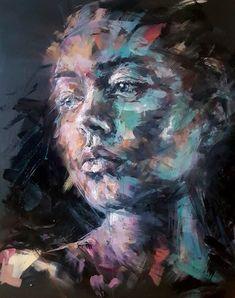 Original Painting. Acrylic on deep edge canvas. 80x100cm. Acrylic Portrait Painting, Lonely, Norway, Original Paintings, Deep, Fine Art, Canvas, Tela, Canvases
