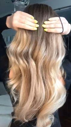 Hairdo For Long Hair, Bun Hairstyles For Long Hair, Cute Hairstyles, How To Long Hair, Front Hair Styles, Medium Hair Styles, Curly Hair Styles, Hair Tips Video, Hair Videos