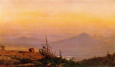 The Athenaeum - Sunset in the Catskills (Jervis McEntee - )