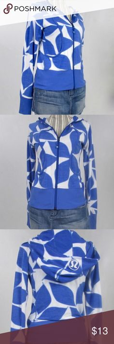 Lululemon scuba hoodie 100% cotton. There are a few bleach spots as shown in the last photo. Reflected in the low price. Thumb holes! lululemon athletica Jackets & Coats