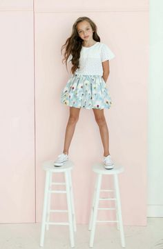 New York kids fashion from Aria for spring 2015, presented to the US press at Petite Parade this week