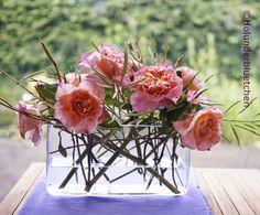 #Rosen #luftig #Zweige #Gräser #Wickenfruchtstand Holunderbluetchen® - Holly Flower®: Juni 2013