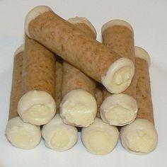 Mandlové trubičky s krémem