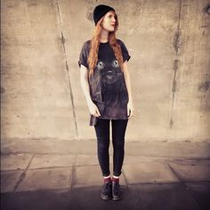ec9e9ed0b5080 outfit // Kayleigh top // Upper Playground jeans // Topshop socks // Uniqlo  shoes // Dr Martens purse // H&M hat // H&M