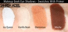 Makeup Geek Eye Shadows - Review, Swatches