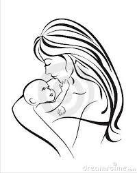 Kuvahaun tulos haulle mother silhouette tattoo