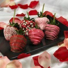 chocolate strawberries :]