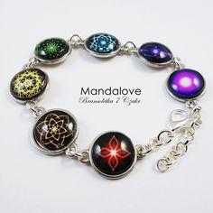 7 Chackra Mandala bracelet