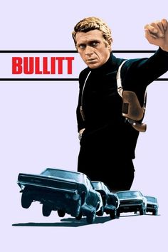 Steve McQueen Bullitt 1968 Robert Vaughn, Jacqueline Bisset, Robert Duvall, Hd Streaming, Streaming Movies, Drama, Top Movies, Movies And Tv Shows, Trailers