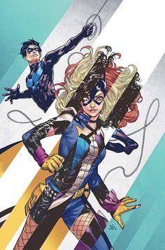 Batgirl & The Birds Of Prey #8 Variant
