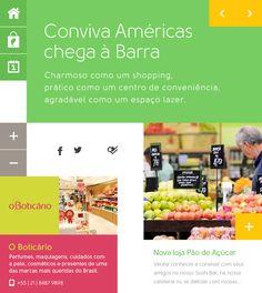Conviva Américas by James Eduardo, via Behance