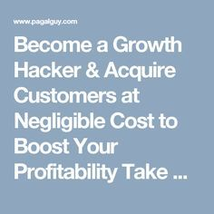 Growth Hacking, How To Introduce Yourself, How To Become, Activities, Free