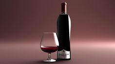 """Popatrz na ten projekt w @Behance: """"Khayyam WINE - Bottle Design"""" https://www.behance.net/gallery/47290645/Khayyam-WINE-Bottle-Design"""