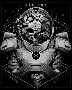 DEAD GUARDIAN on Behance Destiny Backgrounds, Destiny Tattoo, Destiny Poster, Destiny Video Game, Destiny Bungie, Love Destiny, Black Mage, Apocalypse Art, Geek Art