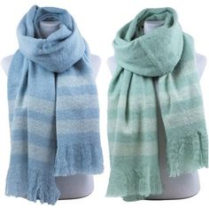 "Extra Soft Extra Thick 2 Tone Scarf Wrap  24"" X 76"" NWT Available in 2 colors #Simi #Scarf #Everyday"
