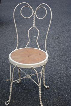 Vintage Icecream Parlor, Vanity Chair On Craigslist Central NJ