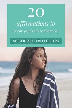 20 Affirmations to Boost Self-Confidence - Set Yourself Free Self Confidence Tips, Confidence Boost, Confidence Building, Confidence Quotes, Positive Affirmations Quotes, Affirmation Quotes, Set You Free, Positive Mindset, Love You More