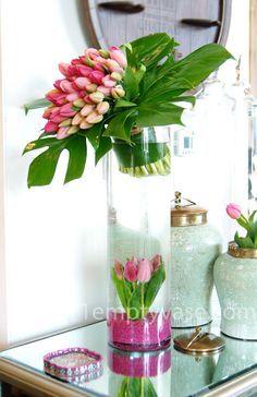Image result for tall flowers cylinder vases pinterest
