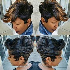 hair styles for me Love Hair, Great Hair, Gorgeous Hair, Awesome Hair, Beautiful, Short Sassy Hair, Short Hair Cuts, Short Pixie, Pixie Cut