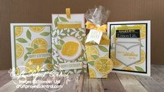 Stampin' Up Lemon Zest with Stampin' Up Pocketful of Sunshine by Cindy Brumbaugh of Cindy Lee Bee Designs Birthday Thank You Cards, Bee Design, Scrapbook Cards, Scrapbooking, Flower Cards, Homemade Cards, Stampin Up Cards, Cardmaking, Craft Projects