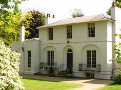 Keats House, Georgian house (built 1814–15) that was once home to the poet John Keats, in North London, England