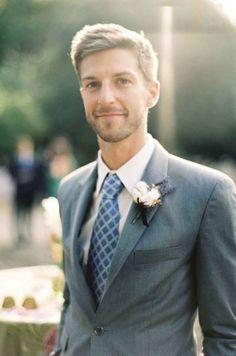 Los colores ideales en un traje de hombre para #boda