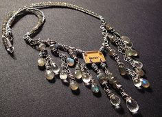 "nina bagley ""water"" necklace"