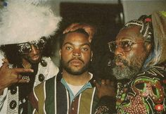 best. bootsy collins, ice cube, and george clinton.