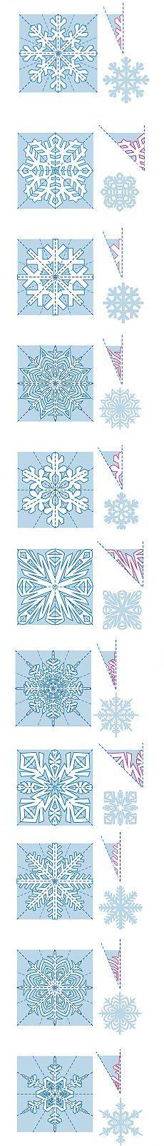 Как сделать снежинки из бумаги? | karapysik.ru