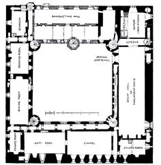 1000 Images About Castle Floorplans On Pinterest