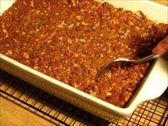 SWEET POTATO CASSEROLE with WALNUT CRUNCH TOPPING - Thanksgiving and Chr...