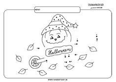 Spájame bodky. Fúrik Halloween. - Aktivity pre deti, pracovné listy, online testy a iné