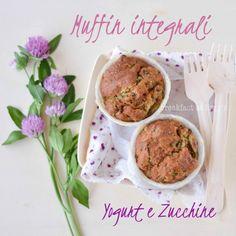 Muffin integrali zucchine e yogurt/zucchini muffin #zucchini #muffin
