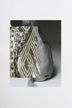Pabli Stein, Everything must glow II, Collage 82 x 62 cm, 2011