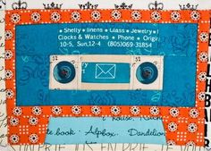 Mix Tape Quilt Block - Do some serious throwback quilting when you learn how to make this funky quilt block pattern that can be used while making a multitude of projects. Whether you want to make a mini quilt pattern or quick clutch, the Mix Tape Quilt Block pattern will show you how to make a quilt block that looks just like a cassette tape. Remember the 80s and 90s with this quilting pattern.