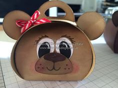 Hello and welcome back to another Curvy Keepsake Wednesday...   This weeks box is all about the Bear...Cute little Teddy Bears..           ...