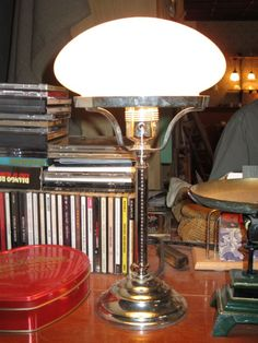 Vores elskede #bordlampe.  #Lamp for the reading by a table. You can enjoy it every day #tibberuphoekeren