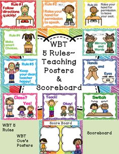 Whole Brain Teaching Posters ~Class Rules~ Scoreboard  If you are looking for a new set of WBT Class Rules, Teaching Posters and Scoreboard this has it all! This set matches my other classroom scribble themes and will complement any décor.